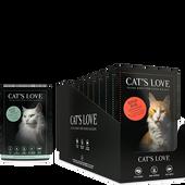 Bild: CAT´S LOVE Multipack Katzenfutter