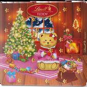 Bild: LINDT Adventkalender Teddy Mädchen
