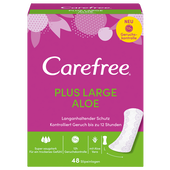 Bild: Carefree Plus large aloe Slipeinlagen