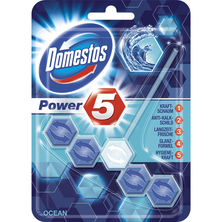 Domestos Power 5 WC Beckenstein Ocean