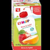 Bild: HiPP Früchtebeutel Birne & Apfel