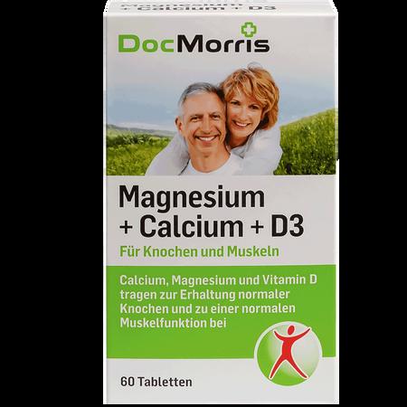 DocMorris Magnesium + Calcium + D3 Tabletten