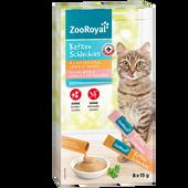 Bild: ZooRoyal Katzenschleckies 4x Geflügel, 4x Lachs