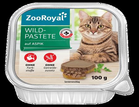 ZooRoyal Wild Pastete auf Aspik
