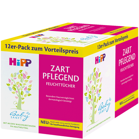 HiPP Zart Pflegende Baby Feuchttücher