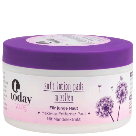 today young Soft Lotion Pads Mizellen