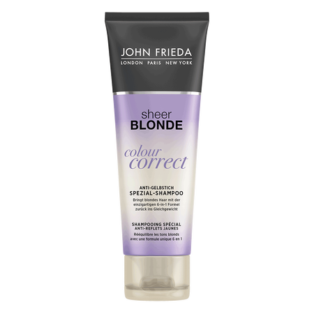 JOHN FRIEDA Sheer Blonde Colour Correct Anti-Gelbstich Spezial Shampoo