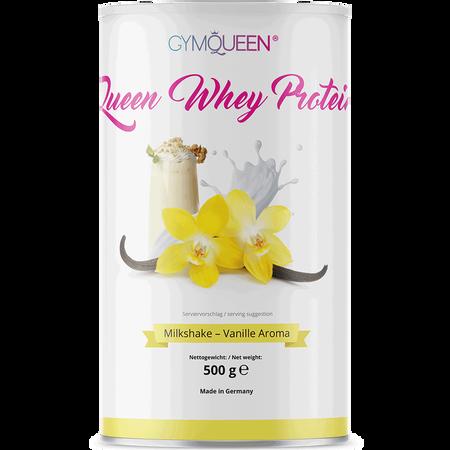 GYMQUEEN Queen Whey Protein Milkshake Vanille Aroma
