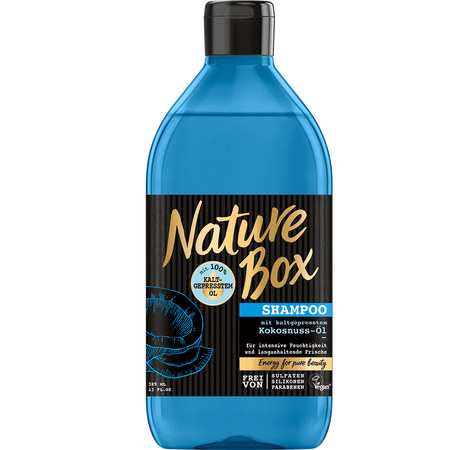 Nature Box Shampoo Kokosnuss-Öl