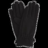 Bild: LOOK BY BIPA Handschuhe mit Knopfmuster schwarz