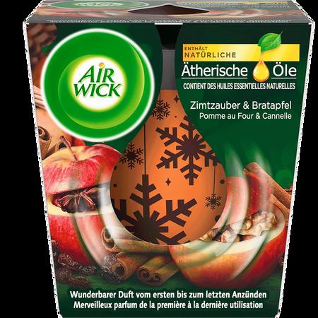 AIRWICK Wohlfühl-Duftkerze Zimtzauber & Bratapfel