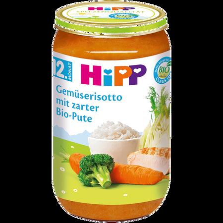 HiPP Gemüserisotto mit zarter Bio-Pute