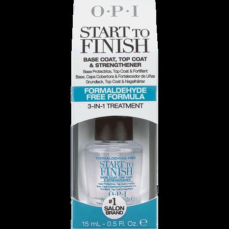 O.P.I Start To Finish Base & Top Coat Formaldehyde Free Formula