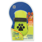 Bild: FURminator Curry Comp Striegel für Hunde und Katzen