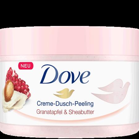 Dove Creme-Dusch-Peeling Granatapfel & Sheabutter