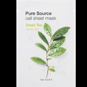 Bild: MISSHA Pure Source Cell Green Tea Tuchmaske