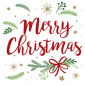Bild: Servietten Merry Christmas