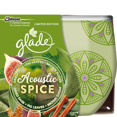 Glade Duftkerze Acoustic Spice LimIted Edition