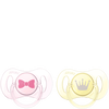 Bild: PHILIPS AVENT Schnuller Mini, 0-2 Monate, rosa/gelb