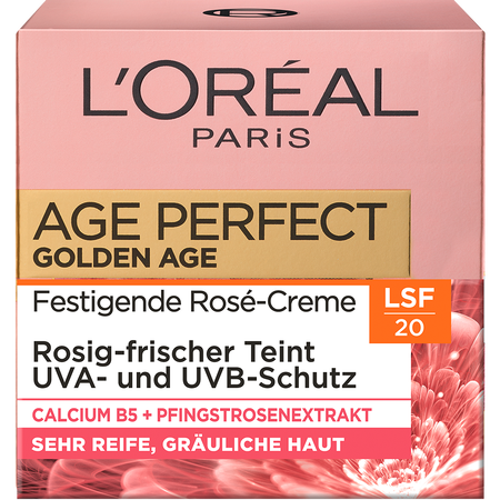 L'ORÉAL PARIS Age Perfect Golden Age Festigende Rosé-Creme