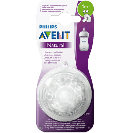 PHILIPS AVENT Sauger Naturnah, 1 Monat+
