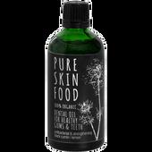 Bild: Pure Skin Food Bio Zahnöl Schwarzkümmel Zitrone