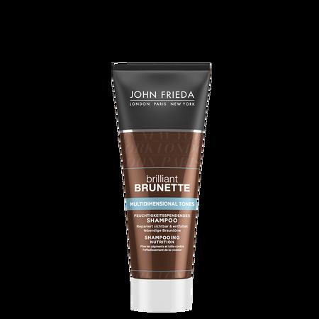 JOHN FRIEDA brilliant Brunette Multidimensional Tones Feuchtigkeitsspendendes Shampoo Mini