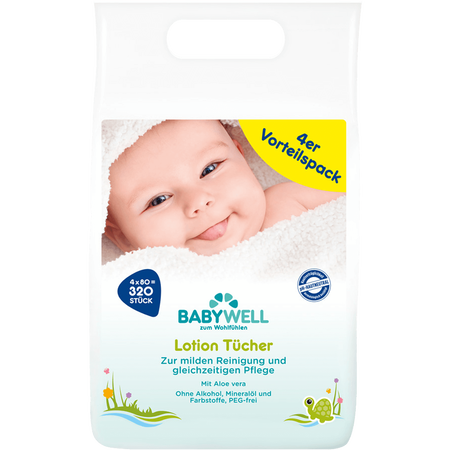 BABYWELL Lotion Tücher