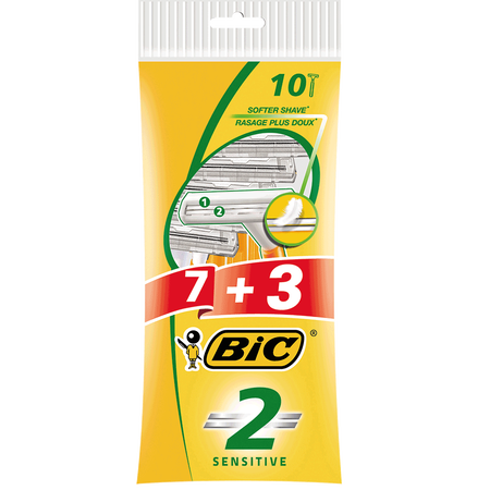 BIC 2 Sensitive Einwegrasierer