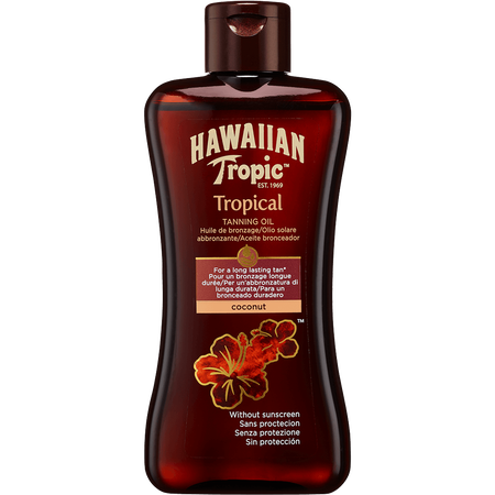 Hawaiian Tropic Tropical Tanning Oil Coconut