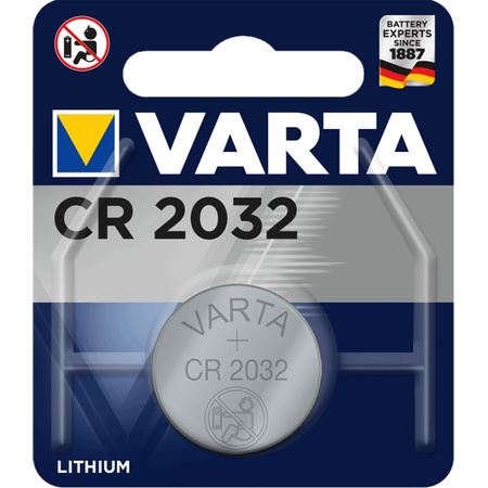 Varta Lithium Knopfzelle CR 2032