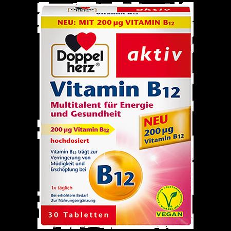 DOPPELHERZ Vitamin B12 30 Tabletten