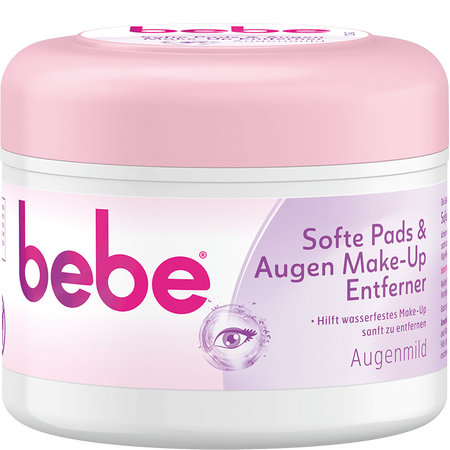 bebe Young Care Quick & Clean Softe Pads & Augen Make-Up Entferner