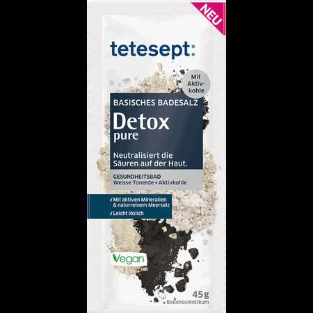 tetesept: Basisches Badesalz Detox pure