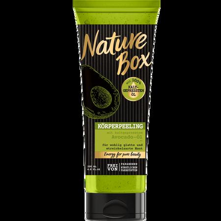 Nature Box Körperpeeling Avocado-Öl