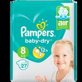 Bild: Pampers Baby-Dry Gr. 8 (17+kg) Value Pack