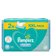 Bild: Pampers Feuchte Tücher Fresh Clean 2 Packungen