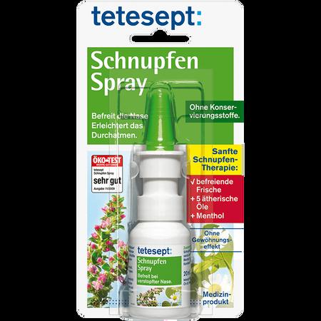 tetesept: Schnupfenspray