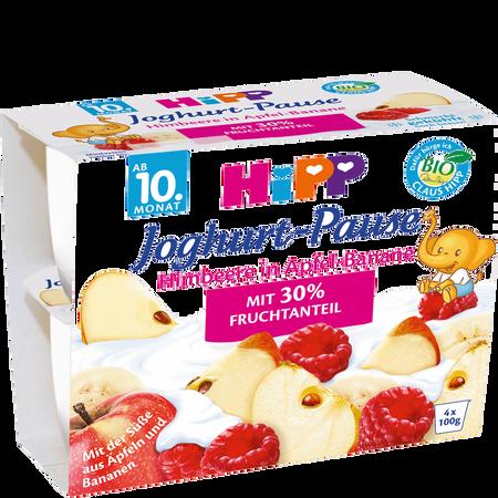 HiPP Joghurt-Pause Himbeere in Apfel-Banane