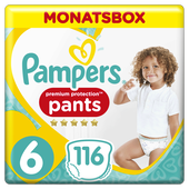 Bild: Pampers Premium Protection Pants Gr.6 Extra Large 15+kg Monatsbox