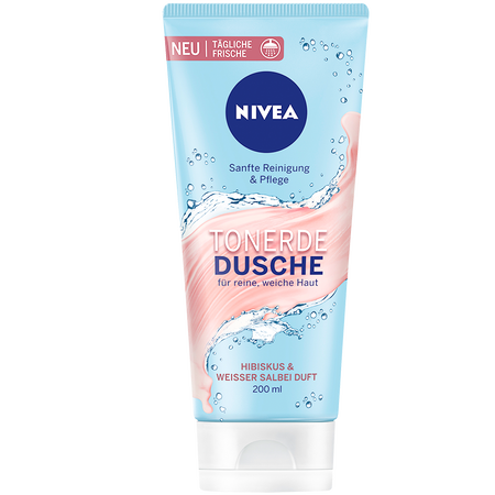NIVEA Tonerde Dusche Hibiskus & Weisser Salbei Duft