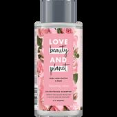 Bild: Love Beauty &  Planet Blooming Colour Shampoo Murumuru Butter & Rose