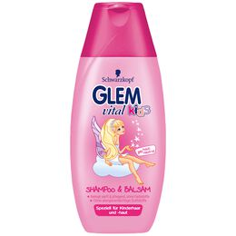 Bild: Schwarzkopf GLEM vital kids Shampoo & Balsam Girls