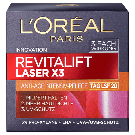 L'ORÉAL PARIS Revitalift Laser X3 Anti-Age Intensiv-Pflege LSF 20