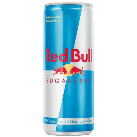 Red Bull Energy Drink Sugarfree 24er Palette