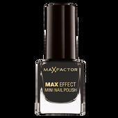 Bild: MAX FACTOR Max Effect Mini Nagellack lacquer noir
