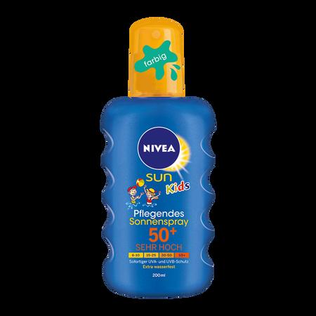 NIVEA Sun Kids Pflegendes Sonnenspray farbig LSF 50+