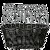 Bild: TRIXIE Fahrradkorb mit Gitter in Schwarz