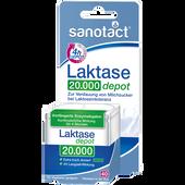 Bild: sanotact Laktase 20.000 depot Tabletten