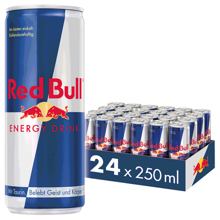 Red Bull Energy Drink 24er Palette
